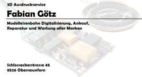 Modelleisenbahnreparatur Fabian Götz